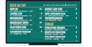 taphunter digital beer board