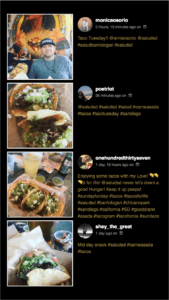 Salud Instagram Digital Display | How Digital Displays and Social Media Improve Bar Customer Experience