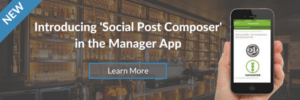 TapHunter social post composer mobile