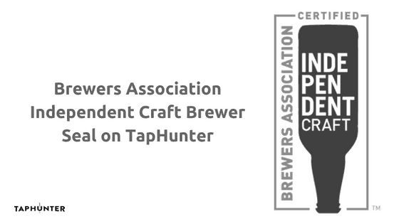 Brewers Association Independent Craft Brewer Seal on TapHunter