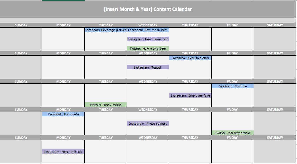 How to Use a Content Calendar to Stay Consistent on Social Media