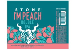 The Top 7 Beers for Summer 2018: Stone I'M Peach Double IPA